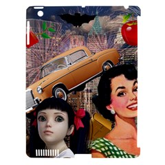 Out In The City Apple Ipad 3/4 Hardshell Case (compatible With Smart Cover)