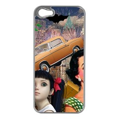 Out In The City Apple Iphone 5 Case (silver)