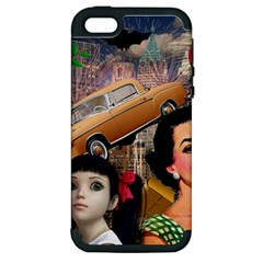 Out In The City Apple Iphone 5 Hardshell Case (pc+silicone)