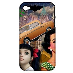 Out In The City Apple Iphone 4/4s Hardshell Case (pc+silicone)