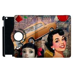 Out In The City Apple Ipad 3/4 Flip 360 Case