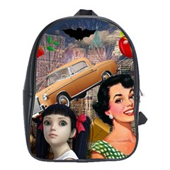 Out In The City School Bag (xl)