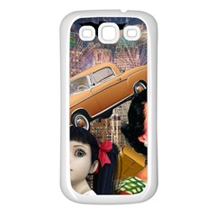 Out In The City Samsung Galaxy S3 Back Case (white)