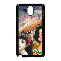 Out In The City Samsung Galaxy Note 3 Neo Hardshell Case (black)