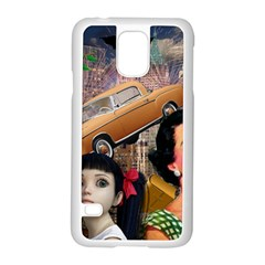 Out In The City Samsung Galaxy S5 Case (white)