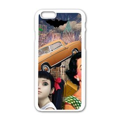 Out In The City Apple Iphone 6/6s White Enamel Case