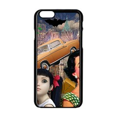 Out In The City Apple Iphone 6/6s Black Enamel Case