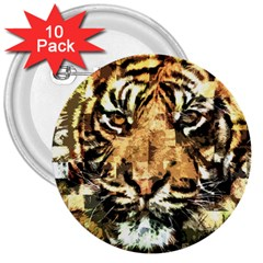 Tiger 1340039 3  Buttons (10 Pack)