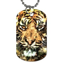 Tiger 1340039 Dog Tag (two Sides)