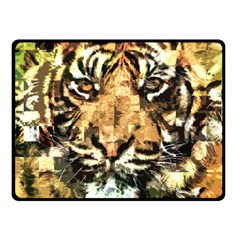 Tiger 1340039 Double Sided Fleece Blanket (small)