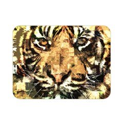 Tiger 1340039 Double Sided Flano Blanket (mini)