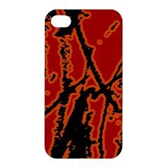 Vivid Abstract Grunge Texture Apple Iphone 4/4s Hardshell Case