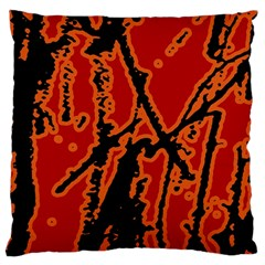 Vivid Abstract Grunge Texture Large Cushion Case (two Sides)