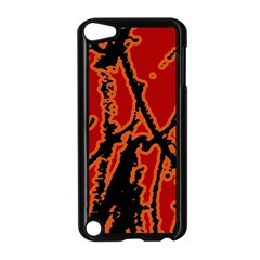 Vivid Abstract Grunge Texture Apple Ipod Touch 5 Case (black)