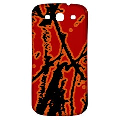 Vivid Abstract Grunge Texture Samsung Galaxy S3 S Iii Classic Hardshell Back Case