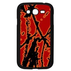 Vivid Abstract Grunge Texture Samsung Galaxy Grand Duos I9082 Case (black)