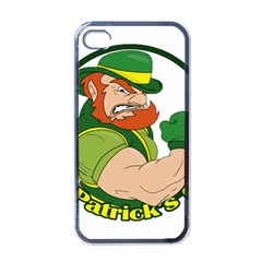 St  Patricks Day Apple Iphone 4 Case (black)