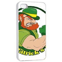 St  Patricks Day Apple Iphone 4/4s Seamless Case (white)