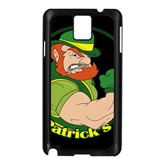 St  Patricks Day Samsung Galaxy Note 3 N9005 Case (black)