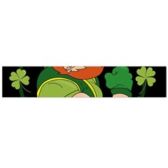 St  Patricks Day Large Flano Scarf