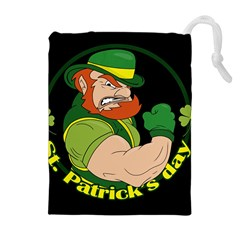 St  Patricks Day Drawstring Pouches (extra Large)