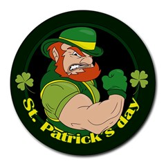 St  Patricks Day Round Mousepads