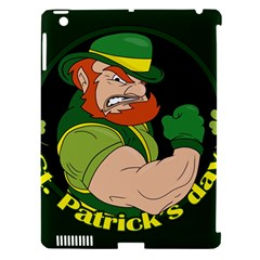St  Patricks Day Apple Ipad 3/4 Hardshell Case (compatible With Smart Cover)