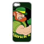 St. Patricks day Apple iPhone 5 Case (Silver) Front