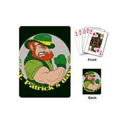St  Patricks Day Playing Cards (mini)
