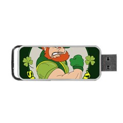 St  Patricks Day Portable Usb Flash (one Side)