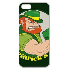 St  Patricks Day Apple Seamless Iphone 5 Case (clear)