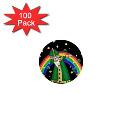 St  Patrick  Dabbing 1  Mini Magnets (100 Pack)