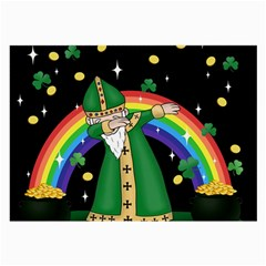 St  Patrick  Dabbing Large Glasses Cloth (2 Side)