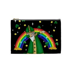 St  Patrick  Dabbing Cosmetic Bag (medium)