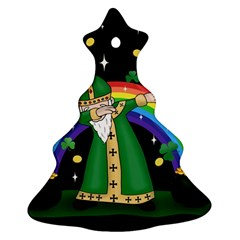 St  Patrick  Dabbing Ornament (christmas Tree)