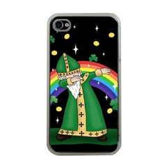 St  Patrick  Dabbing Apple Iphone 4 Case (clear)
