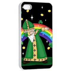 St  Patrick  Dabbing Apple Iphone 4/4s Seamless Case (white)