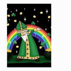 St  Patrick  Dabbing Small Garden Flag (two Sides)