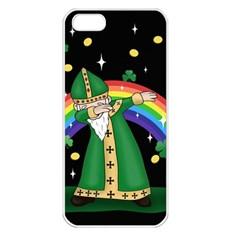 St  Patrick  Dabbing Apple Iphone 5 Seamless Case (white)