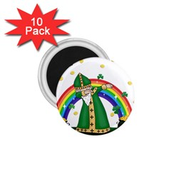 St  Patrick  Dabbing 1 75  Magnets (10 Pack)