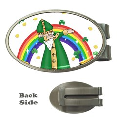 St  Patrick  Dabbing Money Clips (oval)