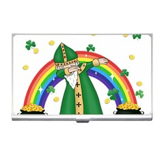St  Patrick  Dabbing Business Card Holders