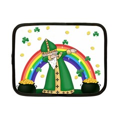St  Patrick  Dabbing Netbook Case (small)