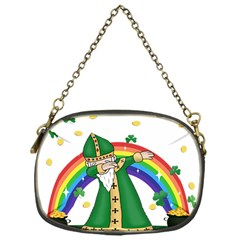 St  Patrick  Dabbing Chain Purses (one Side)