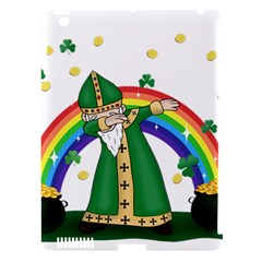 St  Patrick  Dabbing Apple Ipad 3/4 Hardshell Case (compatible With Smart Cover)