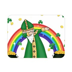 St  Patrick  Dabbing Double Sided Flano Blanket (mini)
