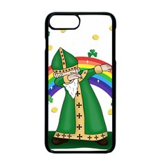 St  Patrick  Dabbing Apple Iphone 7 Plus Seamless Case (black)