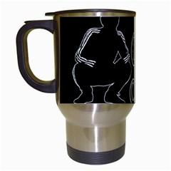Slav Squat Travel Mugs (white)