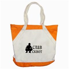 Slav Squat Accent Tote Bag