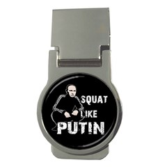 Squat Like Putin Money Clips (round)
